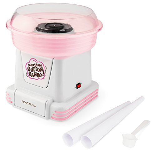 Nostalgia PCM805 Hard & Sugar-Free Candy Cotton Candy Maker