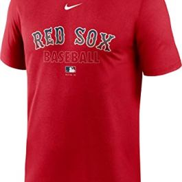 Nike Men's Boston Red Sox Red Authentic Collection Legend Dri-FIT T-Shirt
