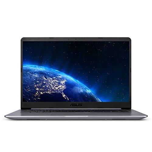 ASUS VivoBook F510UA FHD Laptop, Intel Core i5-8250U, 8GB RAM, 1TB HDD, USB-C, NanoEdge Display, Fingerprint, Windows 10, Star Gray (F510UA-AH51)