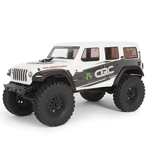 Axial 1/24 SCX24 2019 Jeep Wrangler JLU CRC Rock Crawler 4WD RTR, White, AXI00002T1