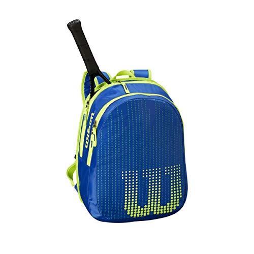 Wilson Tennis Backpack, Blue/Yellow