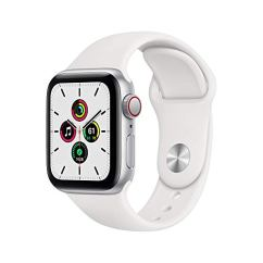 New-Apple-Watch-SE-GPS-Cellular-40mm-Silver-Aluminum-Case-with-White-Sport-Band