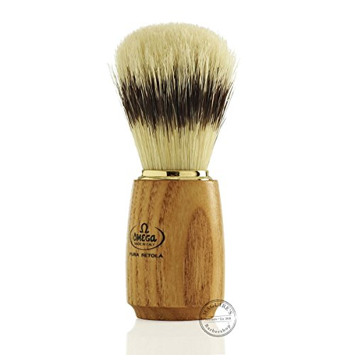 Omega shaving brush 19