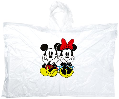 Disney Mickey Mouse Florida Adult Poncho, Yellow, One Size