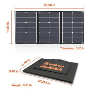 Jackery-SolarSaga-60W-Solar-Panel-for-Explorer-160240500-and-HLS290-as-Portable-Solar-Generator-Portable-Foldable-Solar-Charger-for-Summer-Camping-Van-RVCant-Charge-Explorer-440-PowerPro