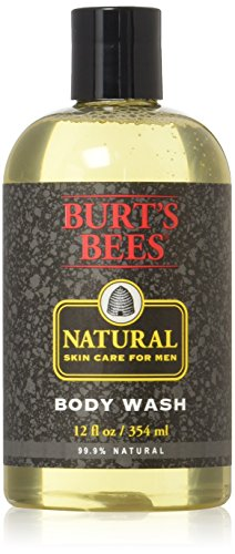 Burt's Bees Natural Skin Care Body Wash for Men, 12 Ounce