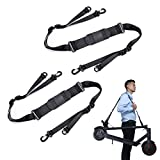 OwnMy Kick Scooter Shoulder Strap, Adjustable Scooter Carrying Strap for Kids Balance Bike Scooter Folding Chair Yoga Mat