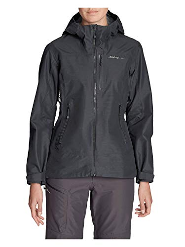 Eddie Bauer Women's BC DuraWeave Alpine Jacket, Carbon Regular M