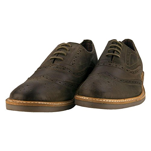 41f ITi27ZL Lace entry Faux leather upper Brogue detailing