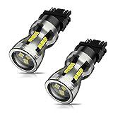 3157 LED Bulbs, SEALIGHT 3157 LED Brake Lights, 3157 LED Backup Reverse Lights 6000K Super Bright White, 3156 LED Reverse Tail Lights, Turn Signal LED - 3056 3156 3057 3157 4157 LED Bulbs, Pack of 2