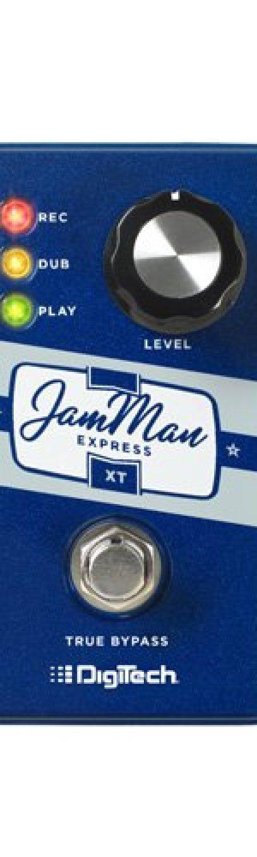 Digitech JMEXTV JamMan Express XT Compact Stereo Looper Pedal with JamSync