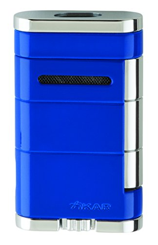 Xikar Allume Double Jet Blue Lighter