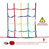 Rainbow Craft Colorful Ninja Climbing Net - Multicolored