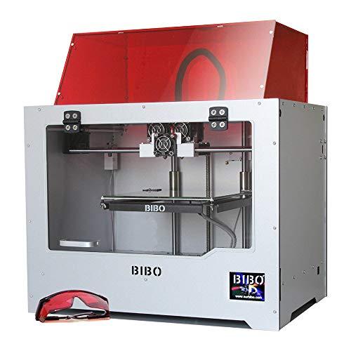 BIBO 3D Printer Metal Frame Dual Extruder Laser Engraving WIFI Touch...