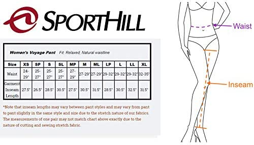 Sporthill Womens Voyage Classic Running Pant 5