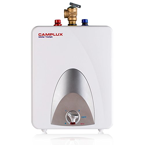 Camplux ME25 Mini Tank Electric Water Heater 2.5-Gallon,1.5kW at 120 Volts