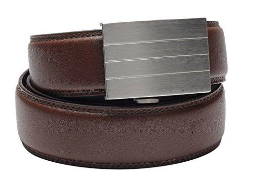 Kore Men S 2 Full Grain Leather Track Belts 1 Buckle