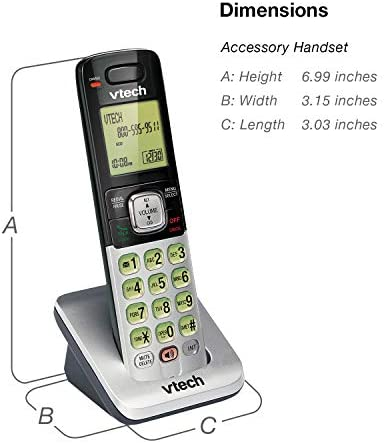 VTech CS6719-2 2-Handset Expandable Cordless Phone with Caller ID/Call Waiting, Handset Intercom & Backlit Display/Keypad 23