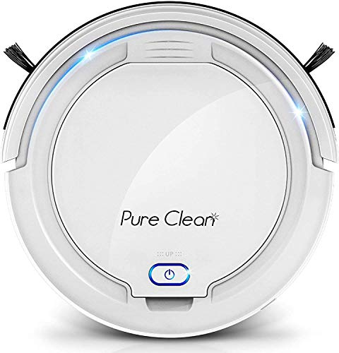 SereneLife-Smart-Automatic-Robot-Cleaner-1200-PA-Rechargeable-Electric-Robo-Vacuum-Cleaner-w-Self-Programmed-Navigation-Anti-Fall-Sensors-Carpet-Hardwood-Linoleum-Tile-Pure-Clean-White