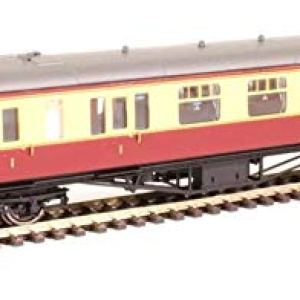 Hornby R4408B BR Hawksworth Brake Composite Class Coach 'W7858W, Multi 41fJyCxubbL