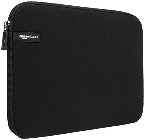 AmazonBasics 14-Inch Laptop Macbook Sleeve Case - Black