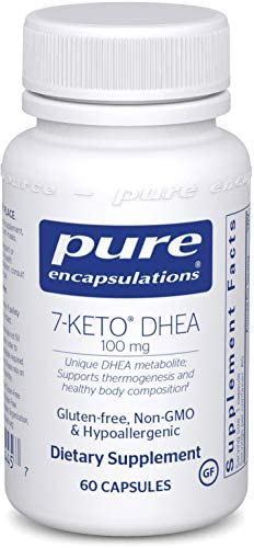 Pure Encapsulations - 7-Keto DHEA 100 mg - Unique DHEA Metabolite to Support Thermogenesis and Healthy Body Composition - 60 Capsules 3