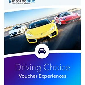 Into the Blue £50 Driving Adventure Gift Voucher Box – 500+ thrilling driving experiences from rally driving to segways, tanks to 'supercars for petrol heads
