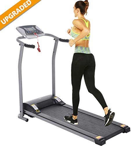 Aceshin Electric Folding Treadmill Power Motorized Walking Jogging Running Machine Cardio Fitness Exercise Equipment Space Saving for Home Gym Easy Assembly 3
