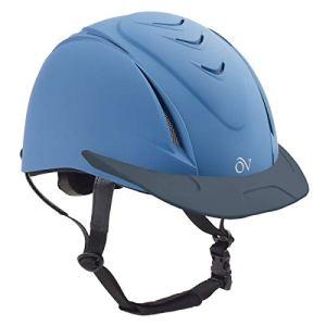 English Riding Supply Inc English Riding Supply Ovation Deluxe Schooler Helmet Blue L/XL