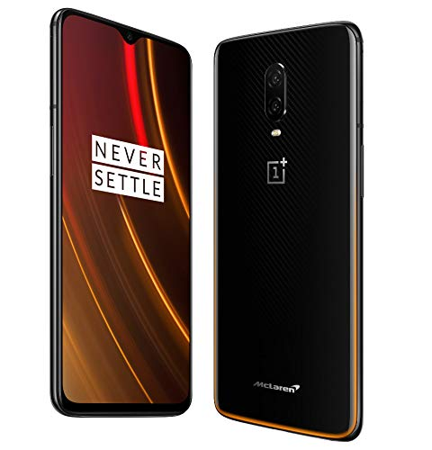 OnePlus 6T McLaren Edition 256GB Storage + 10GB Memory Factory Unlocked 6.41 inch AMOLED Display Android 9 - Midnight Black US Version