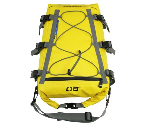 Overboard Waterproof Kayak Deck Bag, Yellow, 20-Liter
