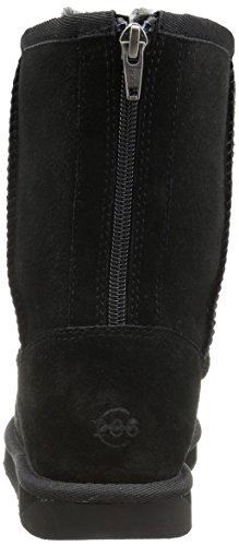 71765r S2HL Suede-finish boot featuring calf-height shaft and shearling lining Foam-cushion footbed