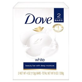 Dove Beauty Bar Gentle Cleanser gor Softer and Smoother Skin with 1/4 Moisturizing Cream White Effectively Washes Away…
