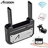 Accsoon CineEye 1080p WiFi HDMI Transmitter 5G Wireless Image Transmission to 4 Devices in a Distance of 100m, Support Android & iOS, RGB, 3D LUT Loading, W/Cold Shoes Mount Monitor Holder