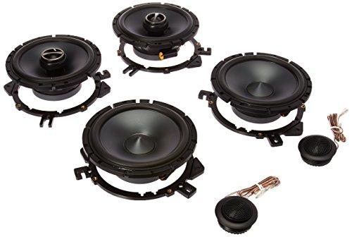 Package: Pair Alpine Sps-610c 6.5' 2 Way Pair of Component Car Speakers + Alpine Sps-610 6.5' 2 Way Pair of Coaxial Car Speakers