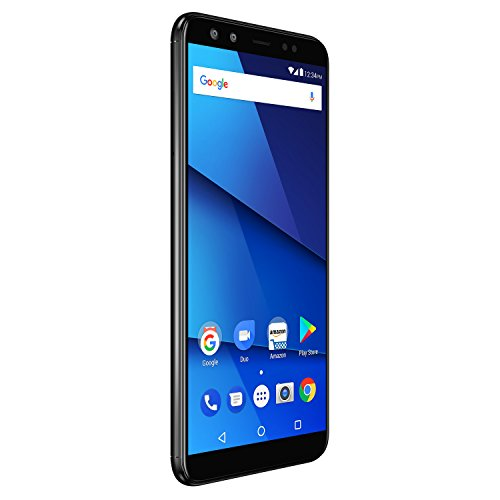 BLU VIVO X - 6.0' HD+18:9 Display Smartphone with Dual Front and Rear Cameras -Black