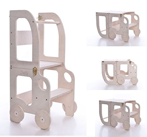 Montessori kitchen step stool NOT PAINTED/step stool for children/table and chair