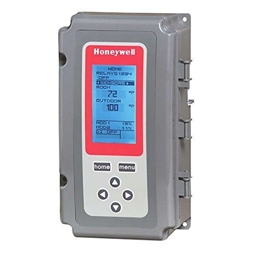 Honeywell T775B2032 Electronic Remote Controller, 2 SPDT, 1 Floating Output, 1 Sensor Included, 2 Sensor Inputs