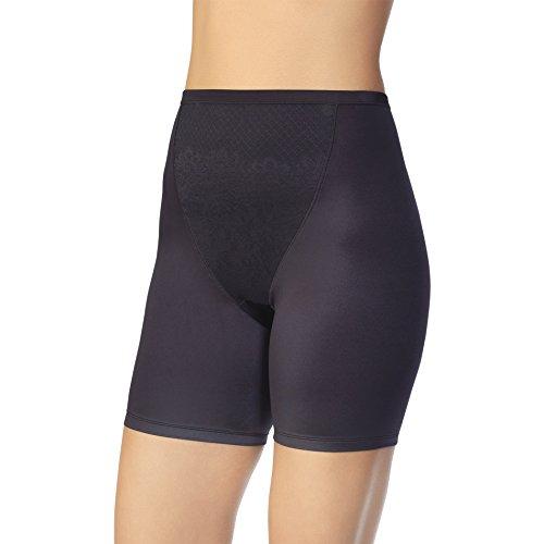 Vanity Fair Women's Smoothing Comfort Slip Short 12290, Midnight Black, X-Large/8