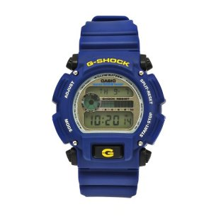 Casio Men's DW9052-2 G-Shock Blue Rubber Digital Dial Watch