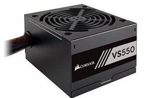 CORSAIR VS Series, VS550, 550 Watt, 80+ White Certified, Non-Modular Power Supply