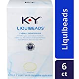 Vaginal Moisturizer, K-Y Liquibeads Vaginal Moisturizer, 6 Bead Inserts and 6 Applicators to restore a woman's natural moisture