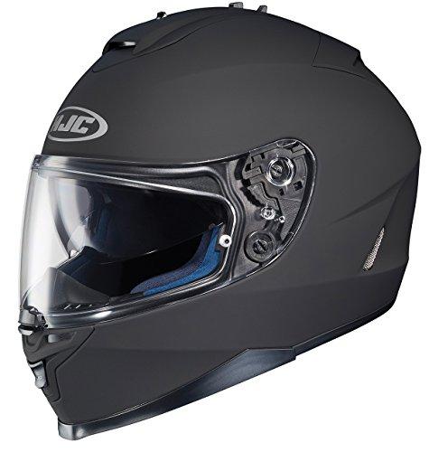 HJC 582-613 IS-17 Full-Face Motorcycle Helmet (Matte Black, Medium)