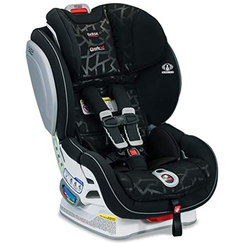 Britax Advocate ClickTight Convertible Car Seat - 3 Layer Impact Protection - Rear & Forward Facing - 5 to 65 Pounds, Mosaic