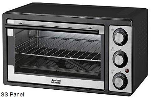 American Micronic-AMI-OTG-19LDx- 19 Litre Imported Oven Toaster Griller, 1300W, 60 Minutes Timer (Black) 37