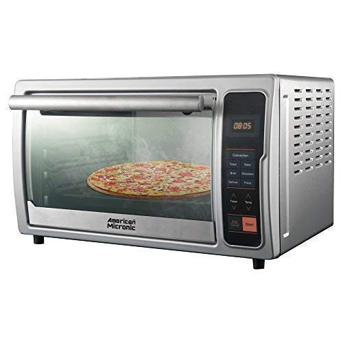 American Micronic- 42 Liters Imported Digital Oven Toaster Griller with Rotisserie & Convection, 2000W, 90 Minutes timer-AMI-OTGD-42LDx 229