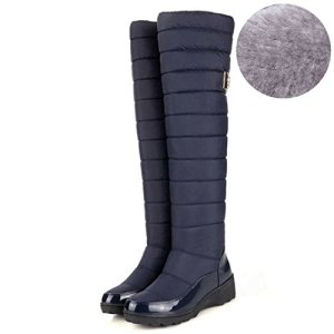 Dormery New Arrival Russia Keep Warm Snow Boots Fashion Platform Fur Over The Knee Boots Warm Winter Boots For Women Shoes