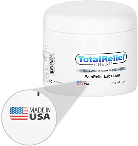 Best Pain Relief Cream 3oz - Arnica Topical Analgesic for Lower and High Back | Knee | Hip | Neck | Foot | Sciatica | Joint | Nerve | Muscle Aches | Arthritis | Fibromyalgia | Anti Inflammatory