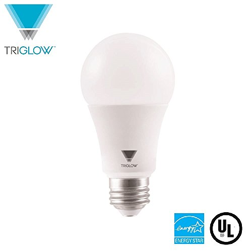 TriGlow T95211 LED 3-WAY Bulb, 14 Watt (40W/60W/100W Equivalent) 3000K (Soft White Color), UL Listed and Energy Star Approved A19 LED Light Bulb