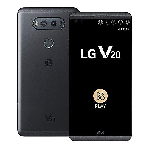 "LG V20 H990DS 64GB Black, 5.7"", Dual Sim, GSM Unlocked International Model, No Warranty"